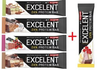 N�h�ad - Akce 4+1 zdarma Nutrend EXCELENT PROTEIN BAR DOUBLE 85g