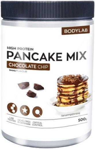 Bodylab Zero High Proteín Pancake Mix 500g chocolate chip