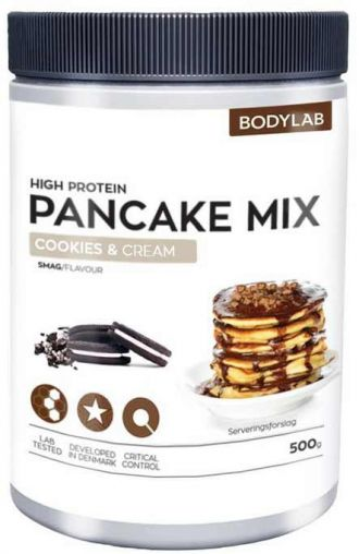 Bodylab Zero High Proteín Pancake Mix 500g cookies and cream
