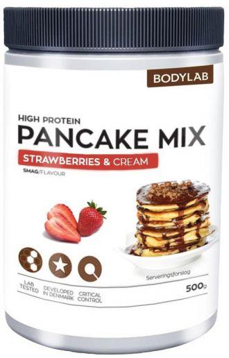 Bodylab Zero High Proteín Pancake Mix 500g jahoda