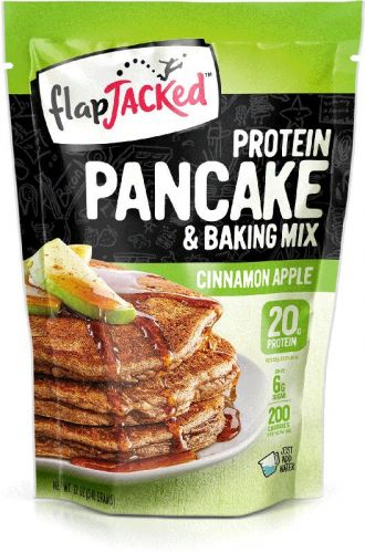 Flap Jacked PROTEIN PANCAKE and Baking Mix 680g cinnamon apple