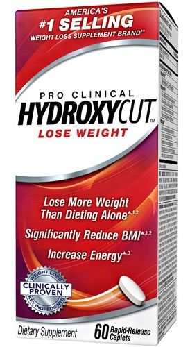 Muscletech HYDROXYCUT Pre Clinical 60cps.
