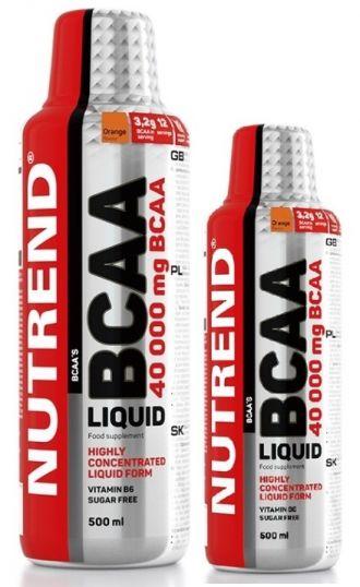 Nutrend BCAA LIQUID 1000ml + 500ml ZADARMO