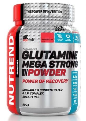 Nutrend GLUTAMINE MEGA STRONG POWDER 500g
