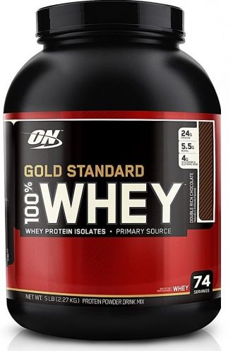 Optimum Nutrition 100% Whey Proteín Gold 2270g + šejker ON