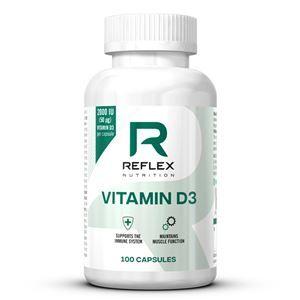 Reflex Vitamin D3 100 kapsúl