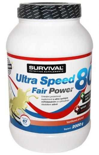 Survival  Ultra Speed 80 Fair Power 2000g