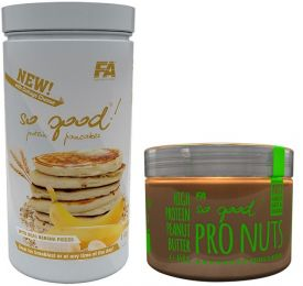 FA SO GOOD ! PROTEIN PANCAKES 1000g + PRO NUTS 450g