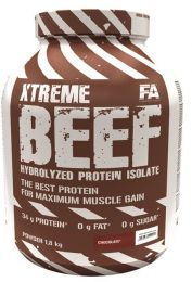 Náhľad - FA XTREME BEEF PROTEIN 1800g + shaker + TESTER